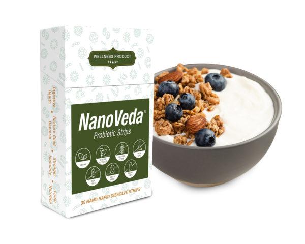 NanoVeda Probiotic Strips
